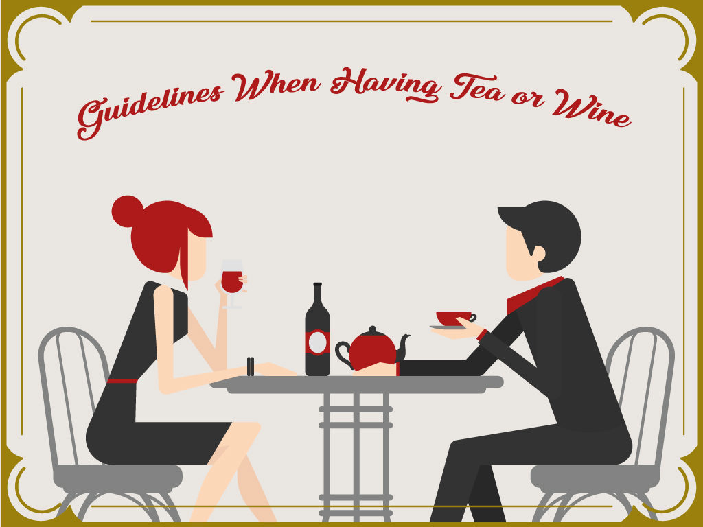 Guidelines When Having Tea or Wine